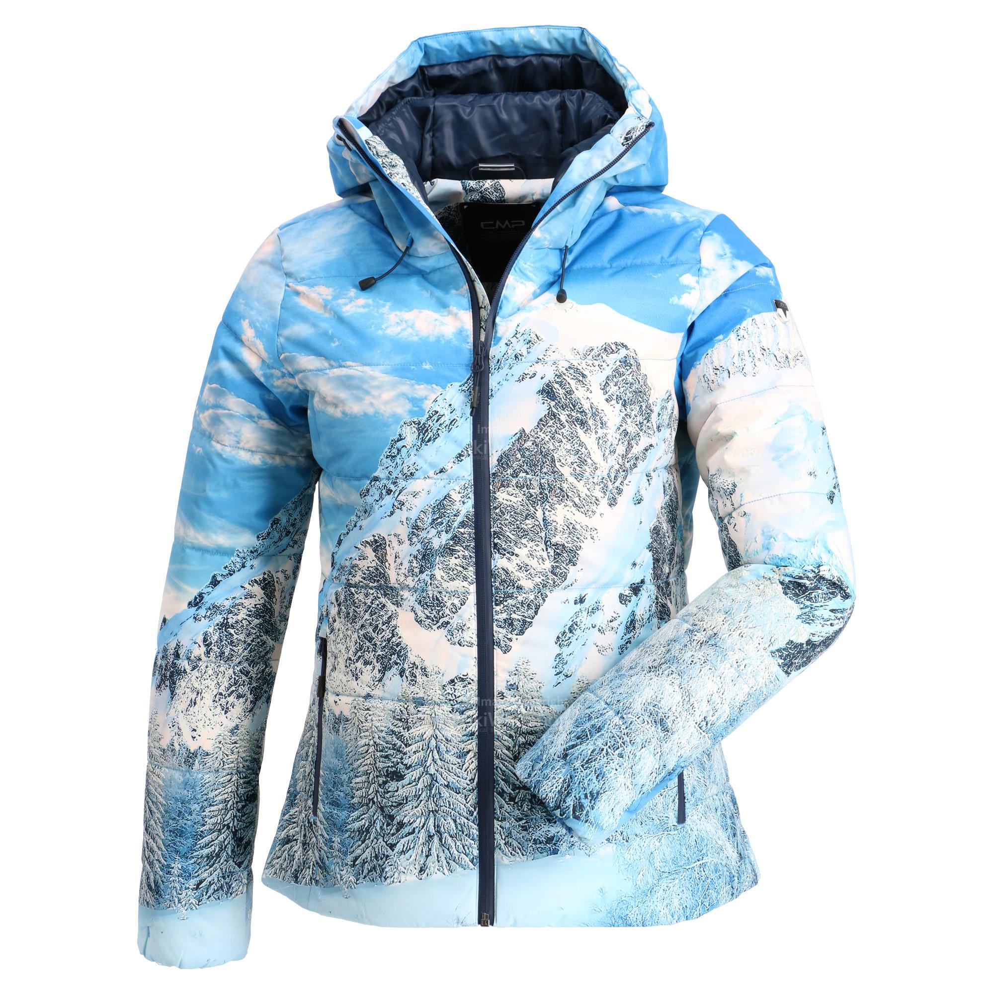 CMP, giacca sci donna marine blu