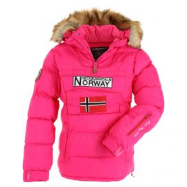 Geographical Norway, Belancolie Lady 001 anorak donna flashy rosa
