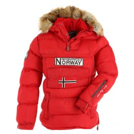 Geographical Norway, Belancolie Lady 001 anorak donna rosso
