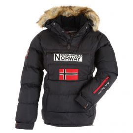Geographical Norway, Belancolie Lady 001 anorak donna nero