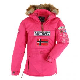 Geographical Norway, Bridget Lady  New 068 anorak donna fuschia rosa