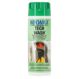 Nikwax, Tech Wash, 300 ml, washing detergent for water-resistant clothes, prodotti di manutenzione