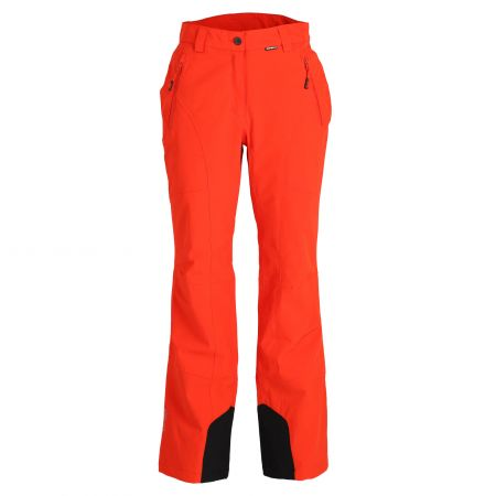 Icepeak, Freyung pantaloni da sci slim fit donna coral rosso