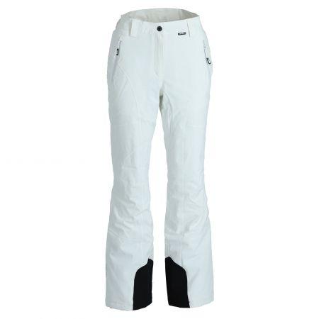 Icepeak, Freyung pantaloni da sci slim fit donna optical bianco