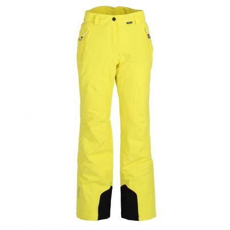 Icepeak, Icepeak Freyung pantaloni da sci conformato corto donna giallo