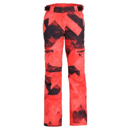 Rehall, Keely-R pantaloni da sci donna graphic rosso/rosa