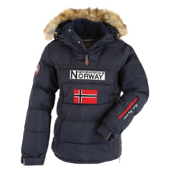 Geographical Norway, Belancolie Lady 001 anorak donna navy blu