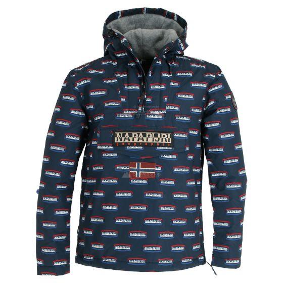repressione Moderatore A bordo  Napapijri, Rainforest Speed anorak, giacca invernale, uomo, grafica blu •  SkiWebShop