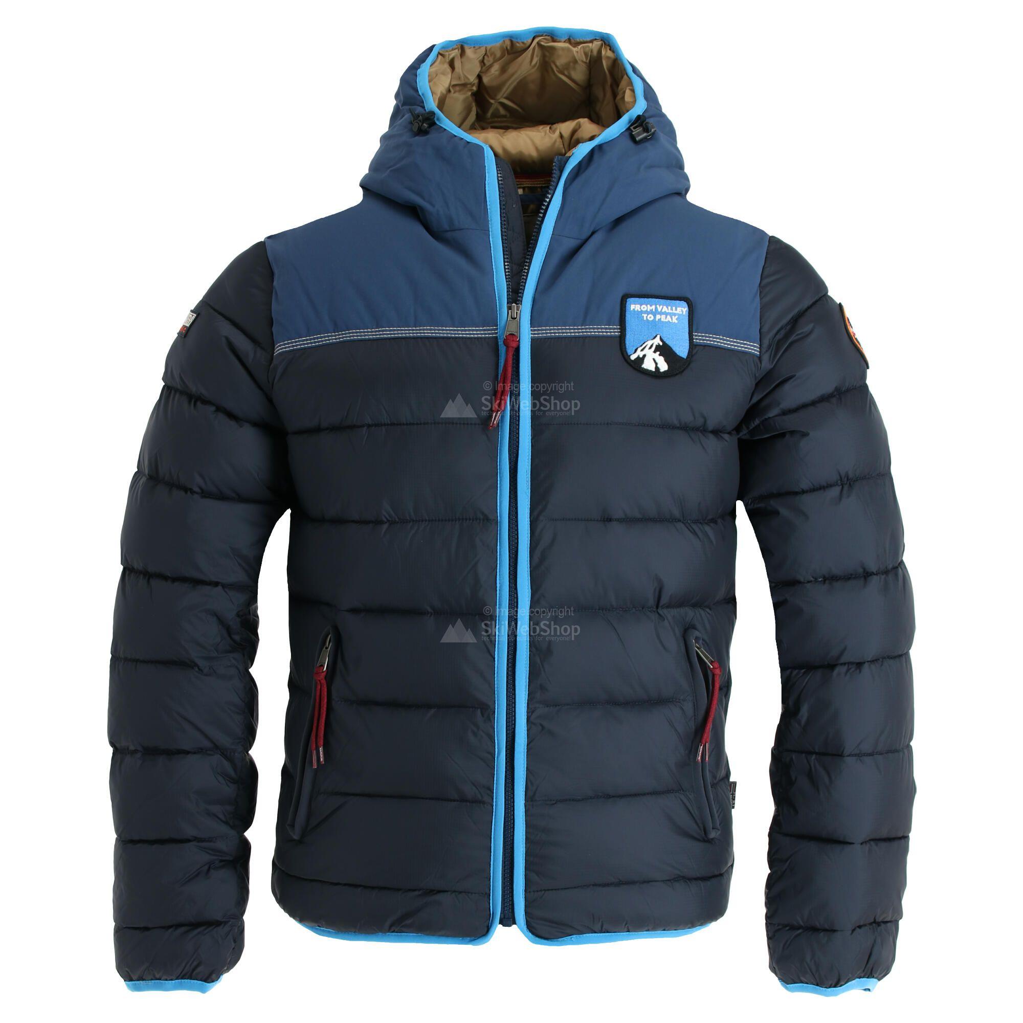 fazzoletto mulino Inferiore  Napapijri, Aric, giacca invernale, uomo, blu navy • SkiWebShop