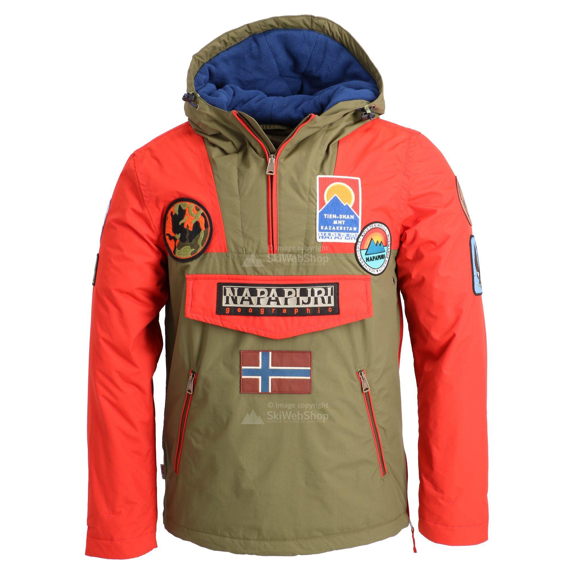 Estrazione mai Fobia  Napapijri, Rainforest giacca invernale, uomo, multi-colour • SkiWebShop